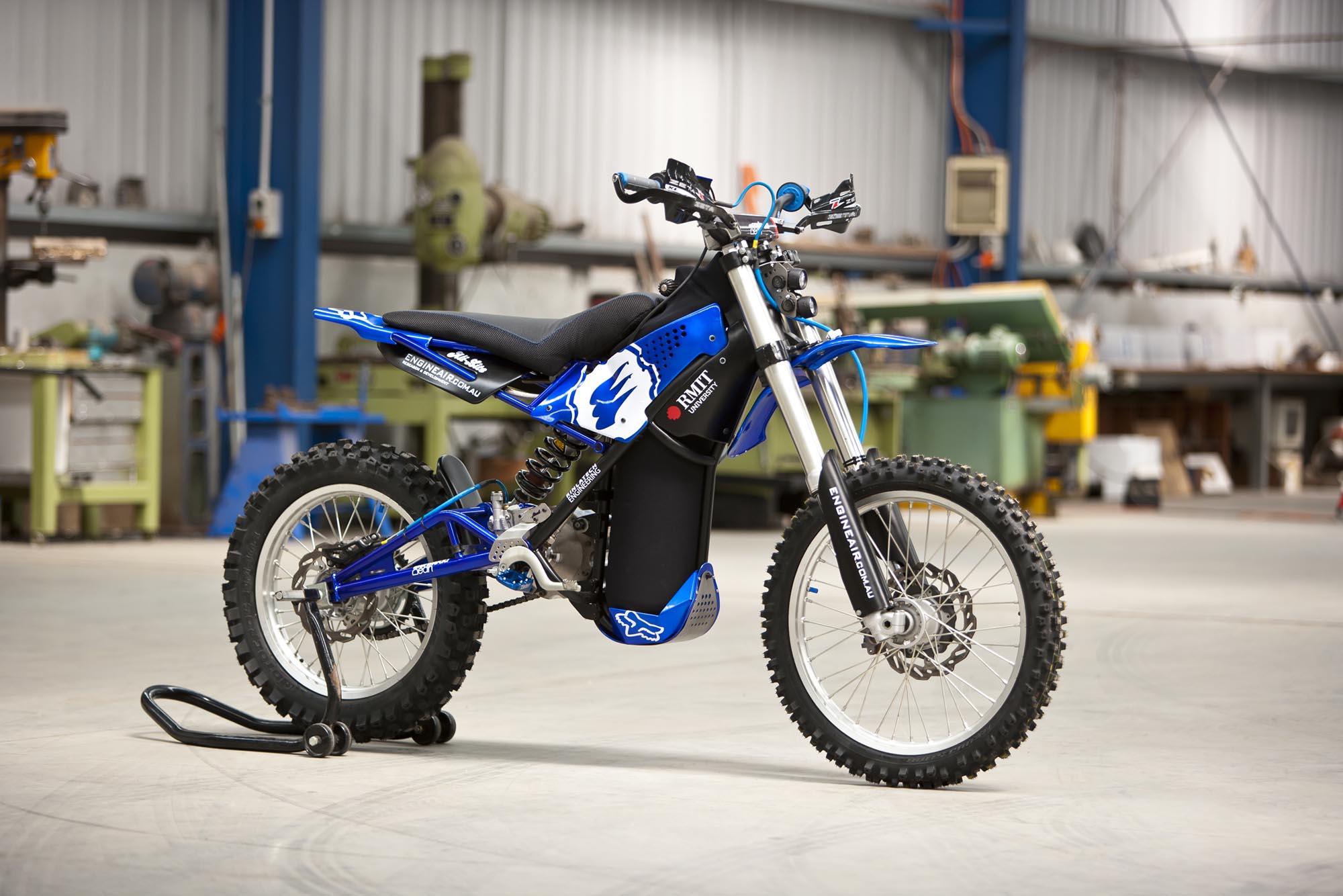O2 Pursuit An Air Powered Dirt Bike Asphalt Rubber