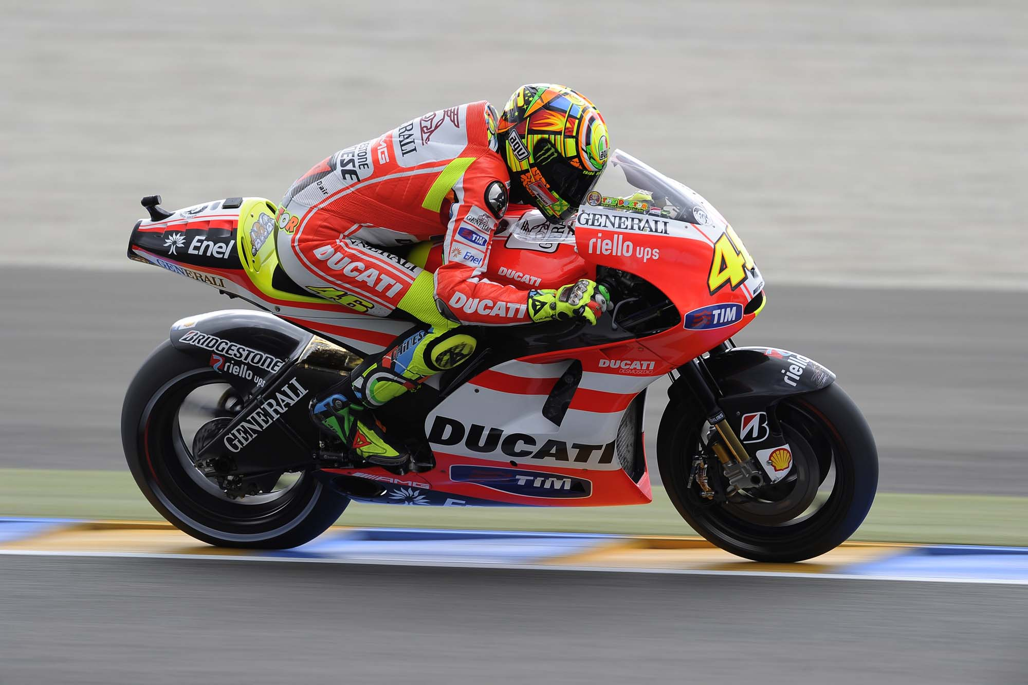 Stoner & Rossi's Ducati MotoGP Bikes up for Auction - Asphalt & Rubber
