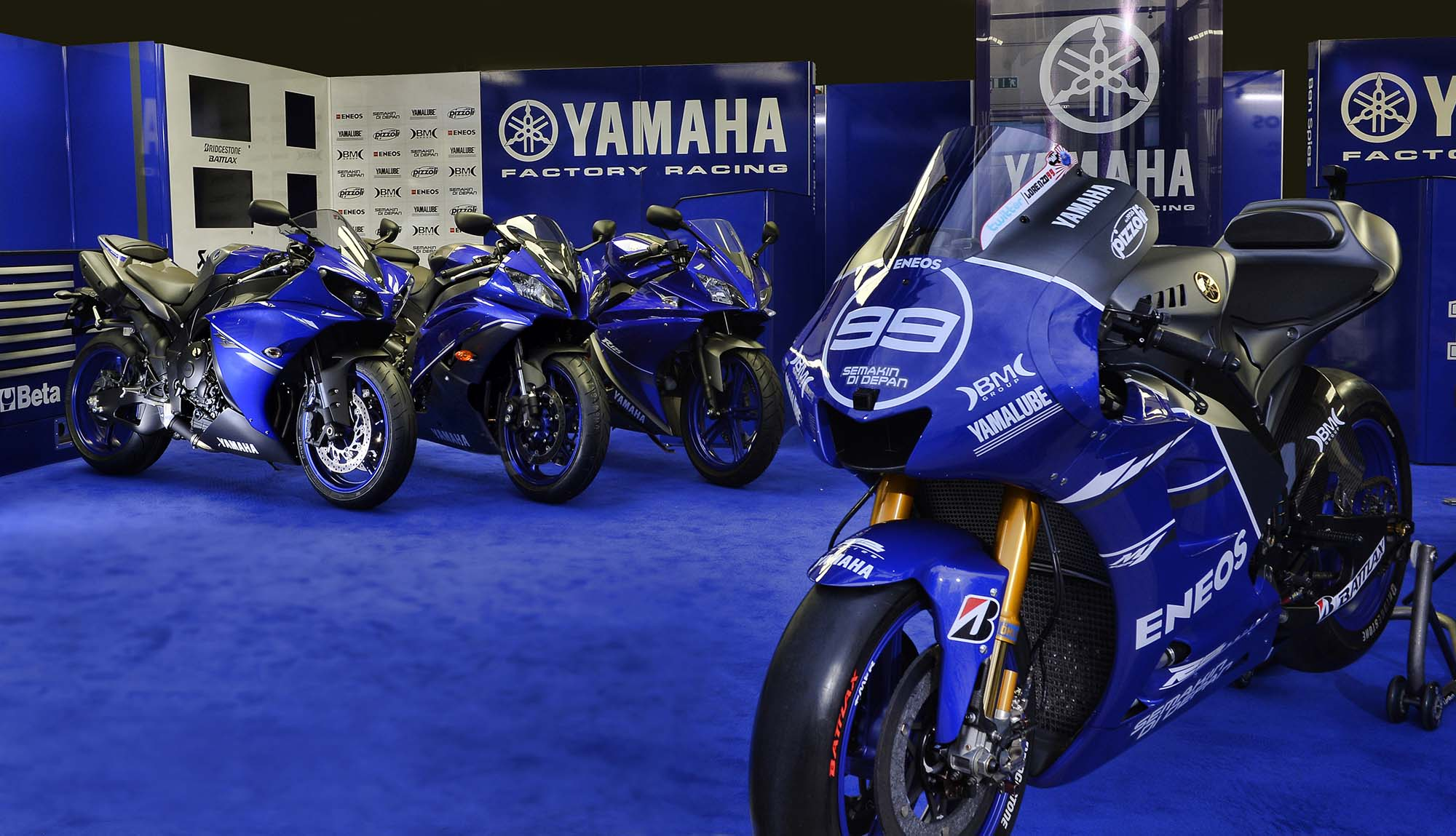 Yamaha Race Blue Paint Code