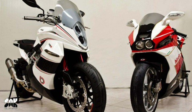 Bimota BB2   Where Retro Meets the BMW S1000RR  Bimota BB2 EICMA sak art design 06 635x372