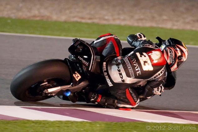 Marco-Melandri-Hayate-Kawasaki-MotoGP-Qatar-Scott-Jones