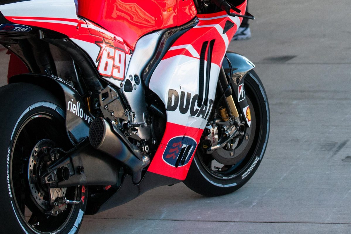 Up-Close with the Ducati Desmosedici GP13