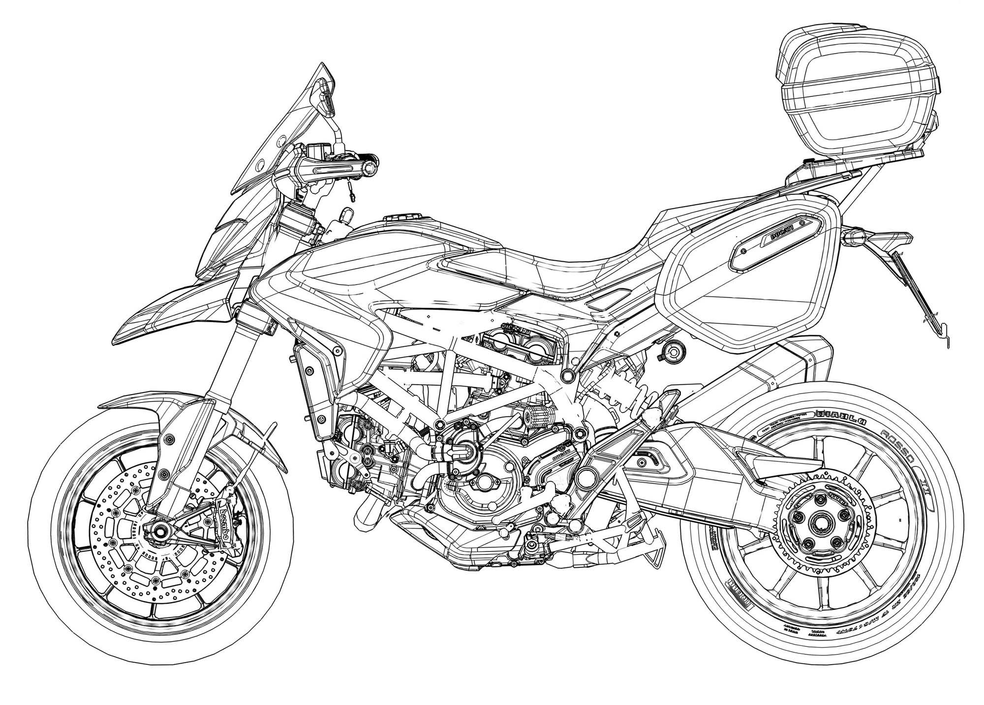 122 Photos Of The Ducati Hyperstrada