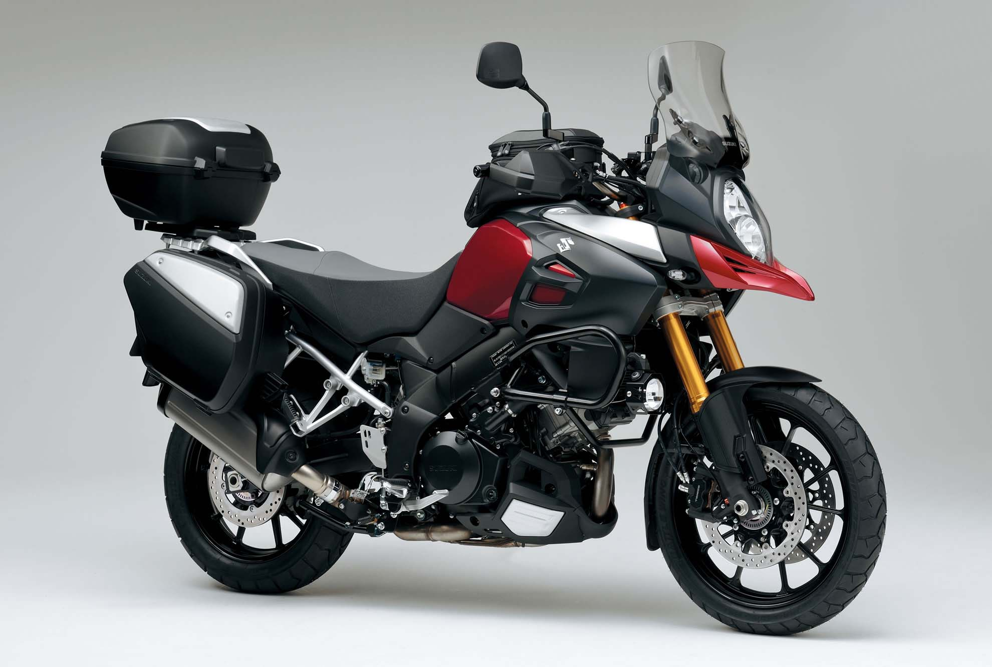2014 suzuki v strom 1000 details emerge asphalt rubber. Black Bedroom Furniture Sets. Home Design Ideas