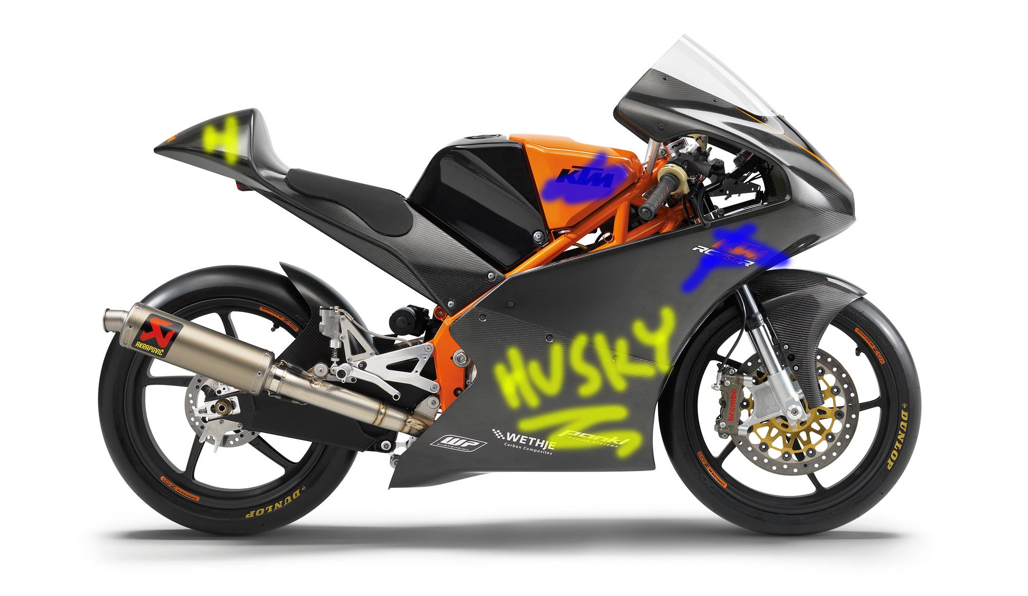 Husqvarna Enters Moto3 with Rebadged KTM Bike - Asphalt & Rubber