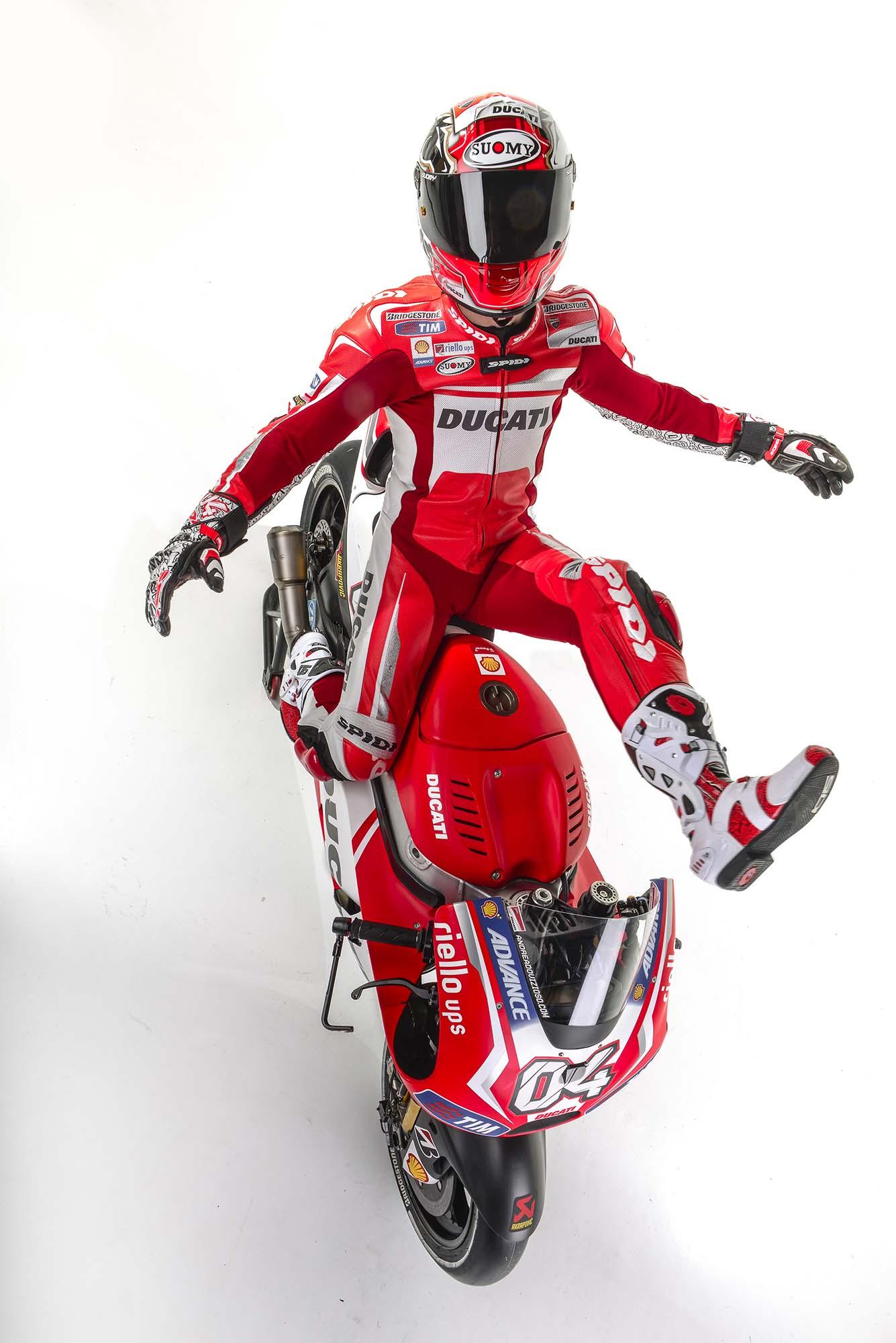 Ducati Corse's 2014 MotoGP Livery - Asphalt & Rubber