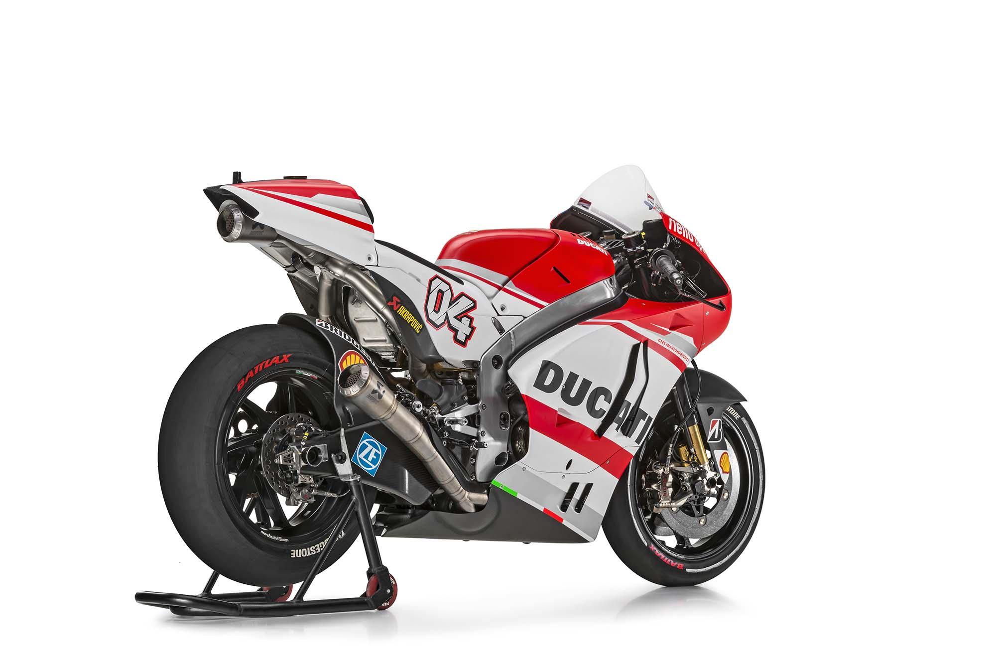 2014 Ducati Desmosedici GP14 Debuts in Germany - Asphalt & Rubber
