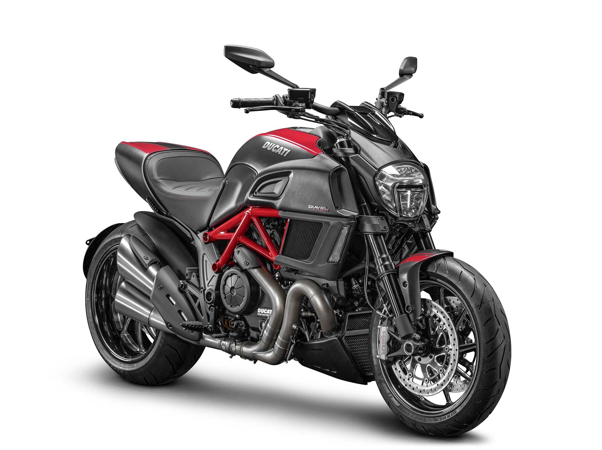Ducati Diavel Low Handlebars