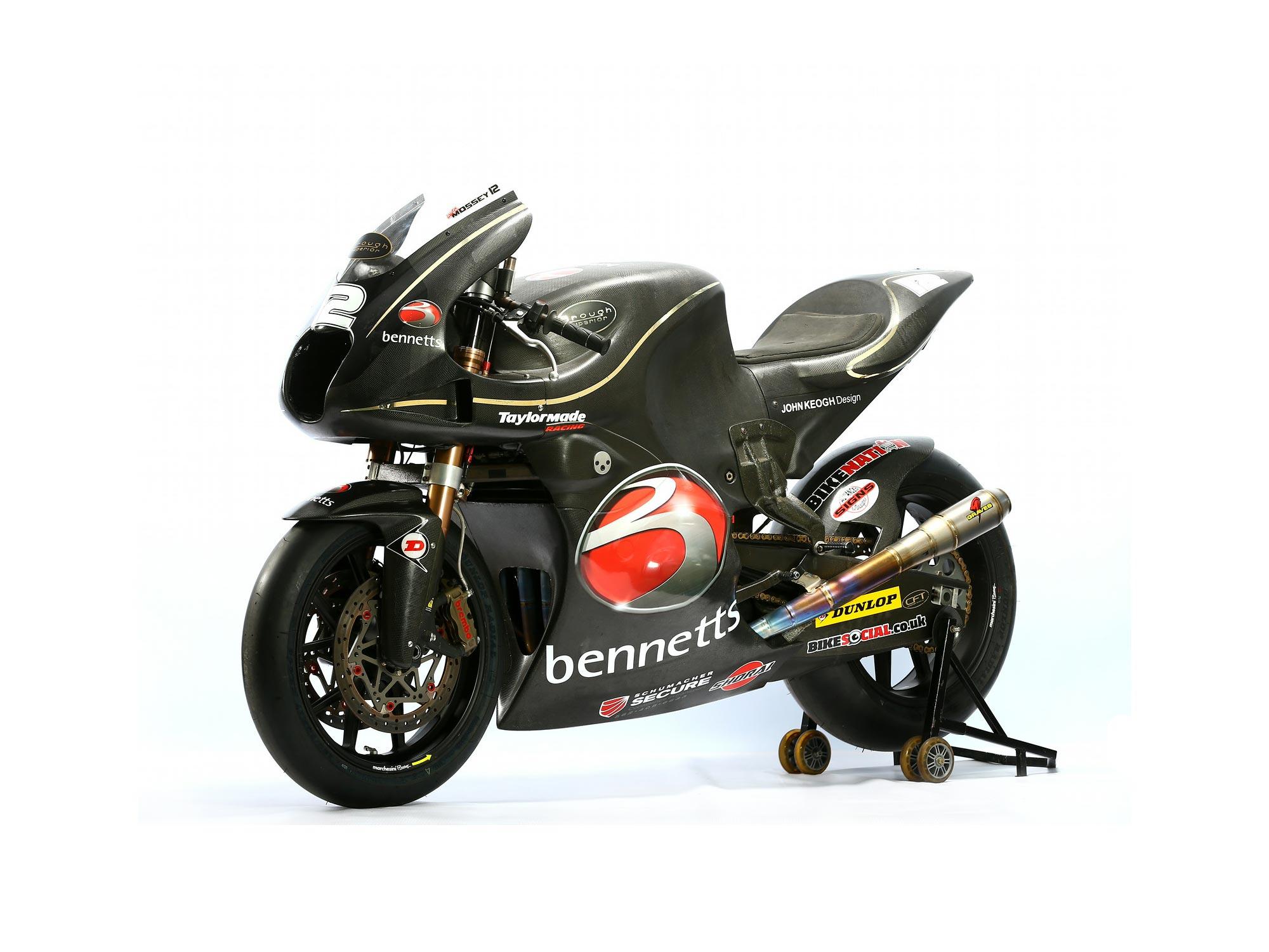Moto2: Brough Superior Race Bike Will Debut at Silverstone - Asphalt & Rubber