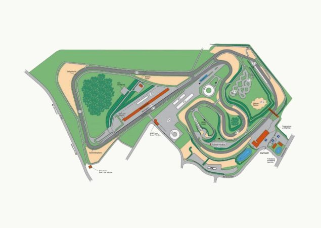 sachsenring-track-map