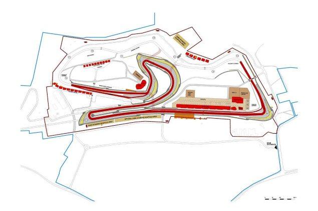 donington-park-track-map