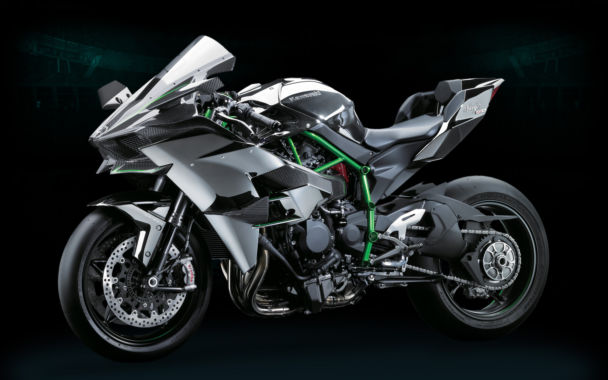 kawasaki ninja h2r officially 300hp of hyperbike. Black Bedroom Furniture Sets. Home Design Ideas