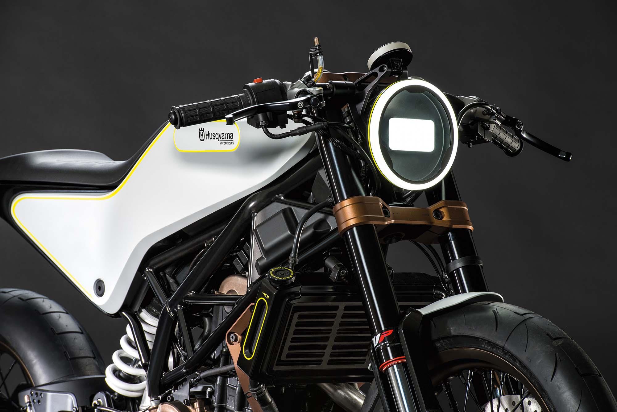 Husqvarna 401 Vitpilen Concept - Asphalt  for Bike Headlight Design  181plt