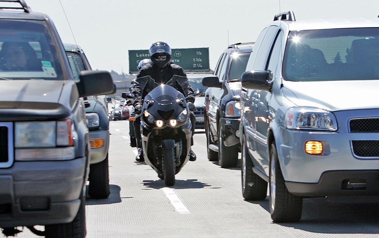 Washington State Weighs Pro Lane Splitting Law Asphalt
