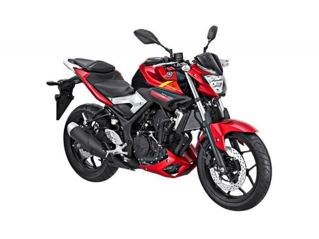 Yamaha-MT-25-red