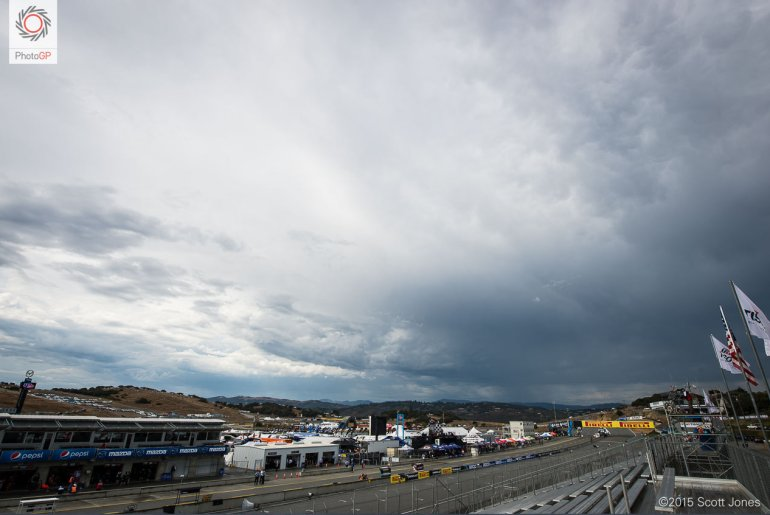 WSBK Laguna Seca weather