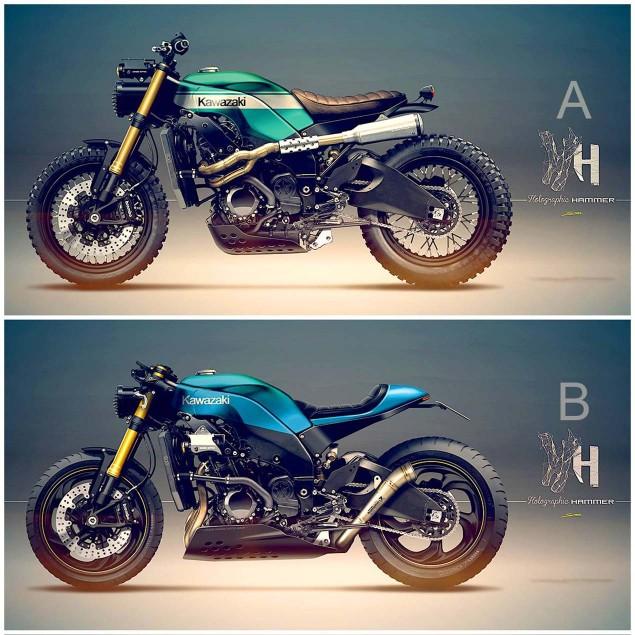Holographic-Hammer-Kawasaki-Ninja-ZX-10R-scrambler-concept-01