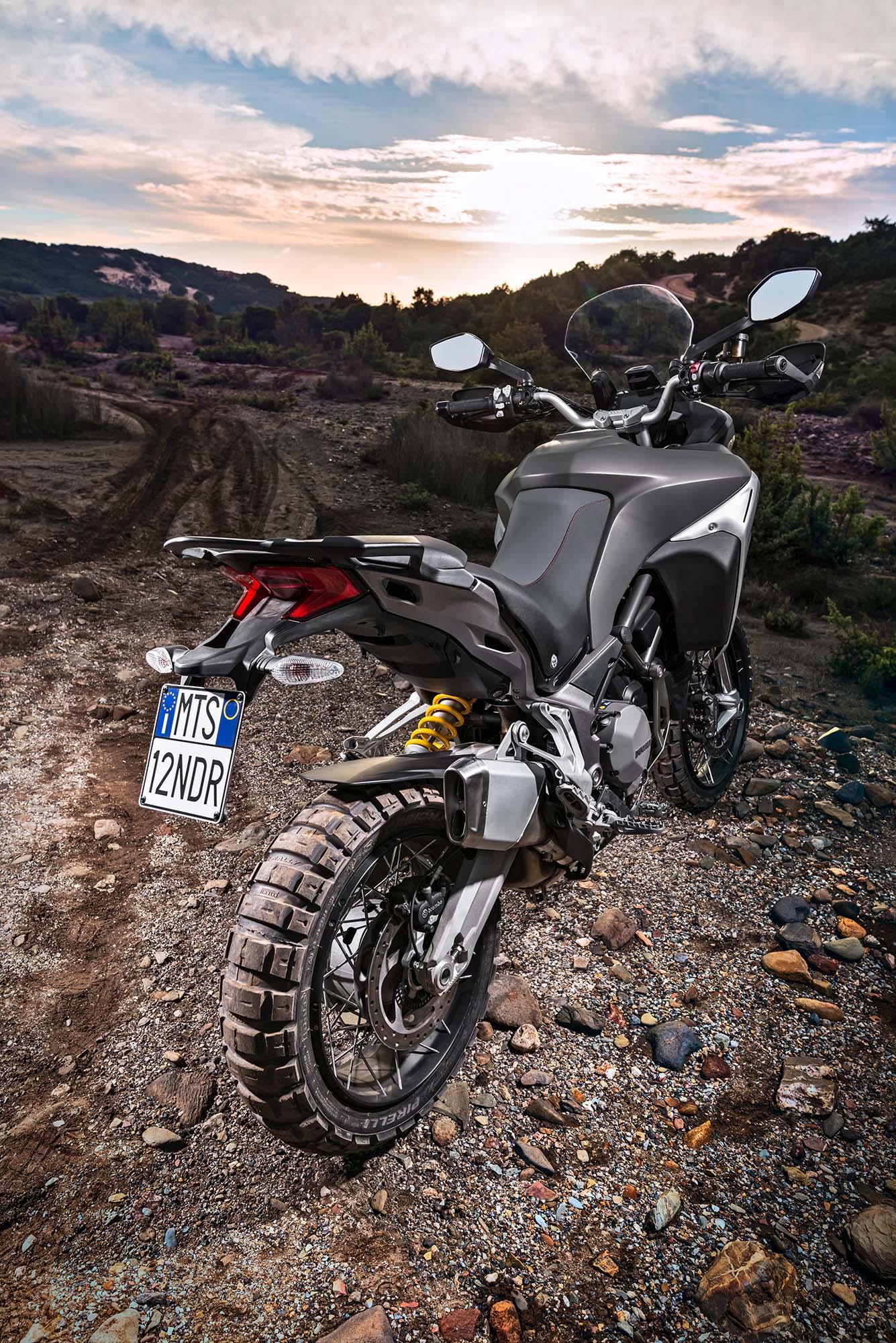 Ducati Multistrada Enduro Tires