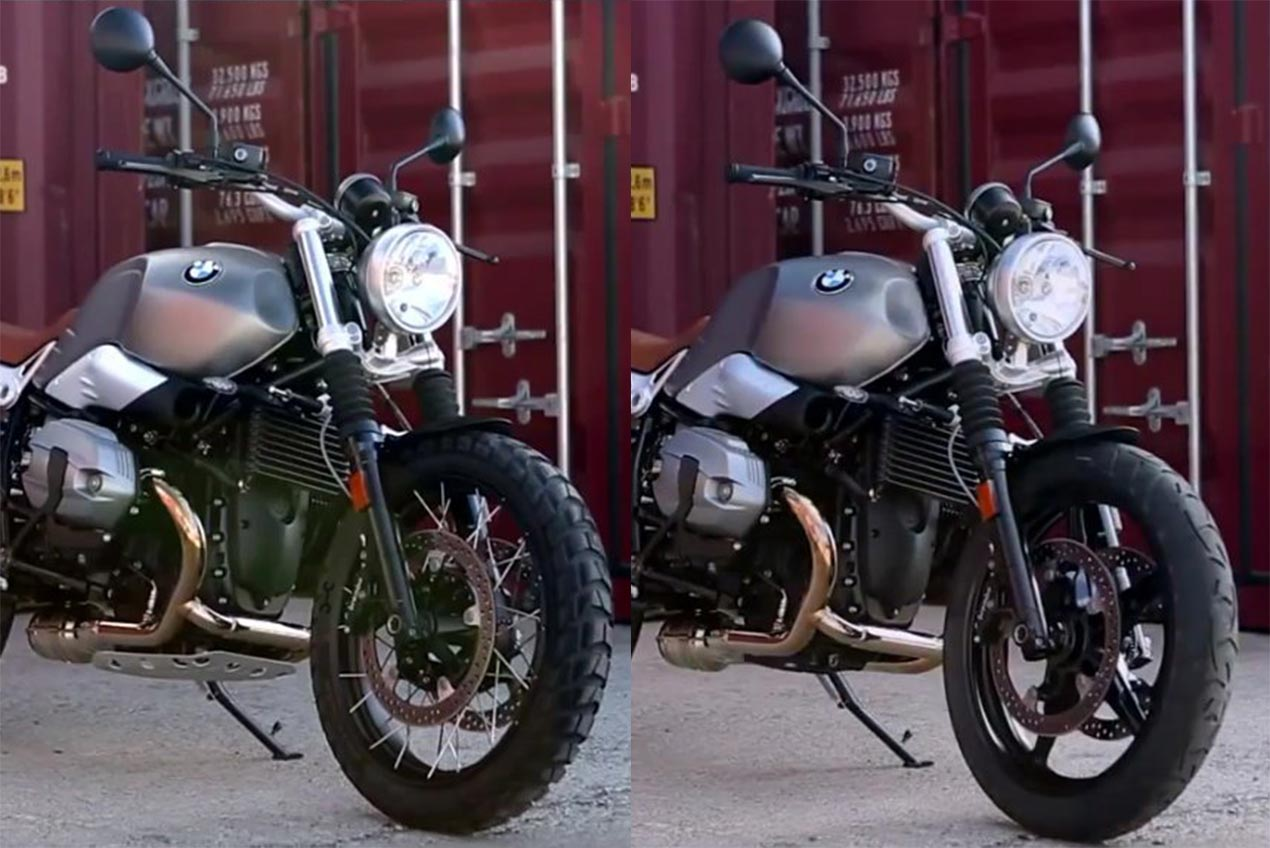 BMW R Nine T Scrambler Will Come In Two Models?