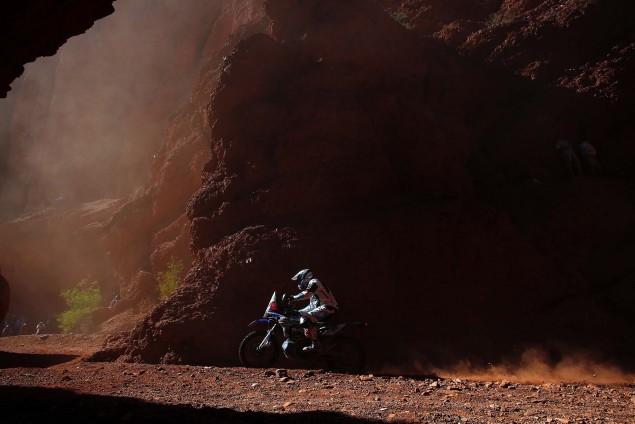 30 DE SOULTRAIT Xavier (fra) YAMAHA action during the Dakar 2016 Argentina, Bolivia, Etape 8 / Stage 8, Salta - Belen, from January 11, 2016 - Photo Frederic Le Floc'h / DPPI