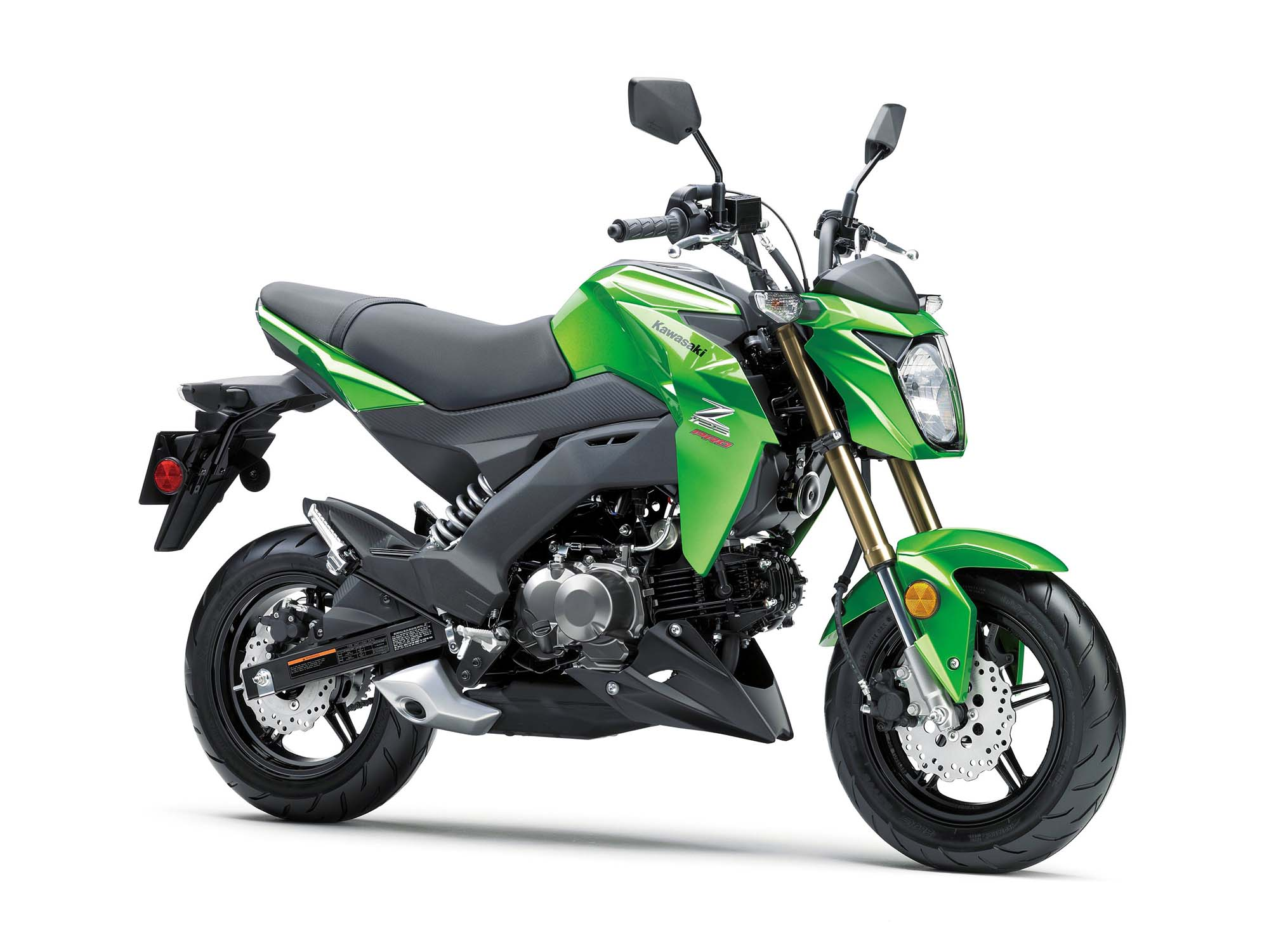 2017 Kawasaki Z125 Pro Pocket Sized Fun