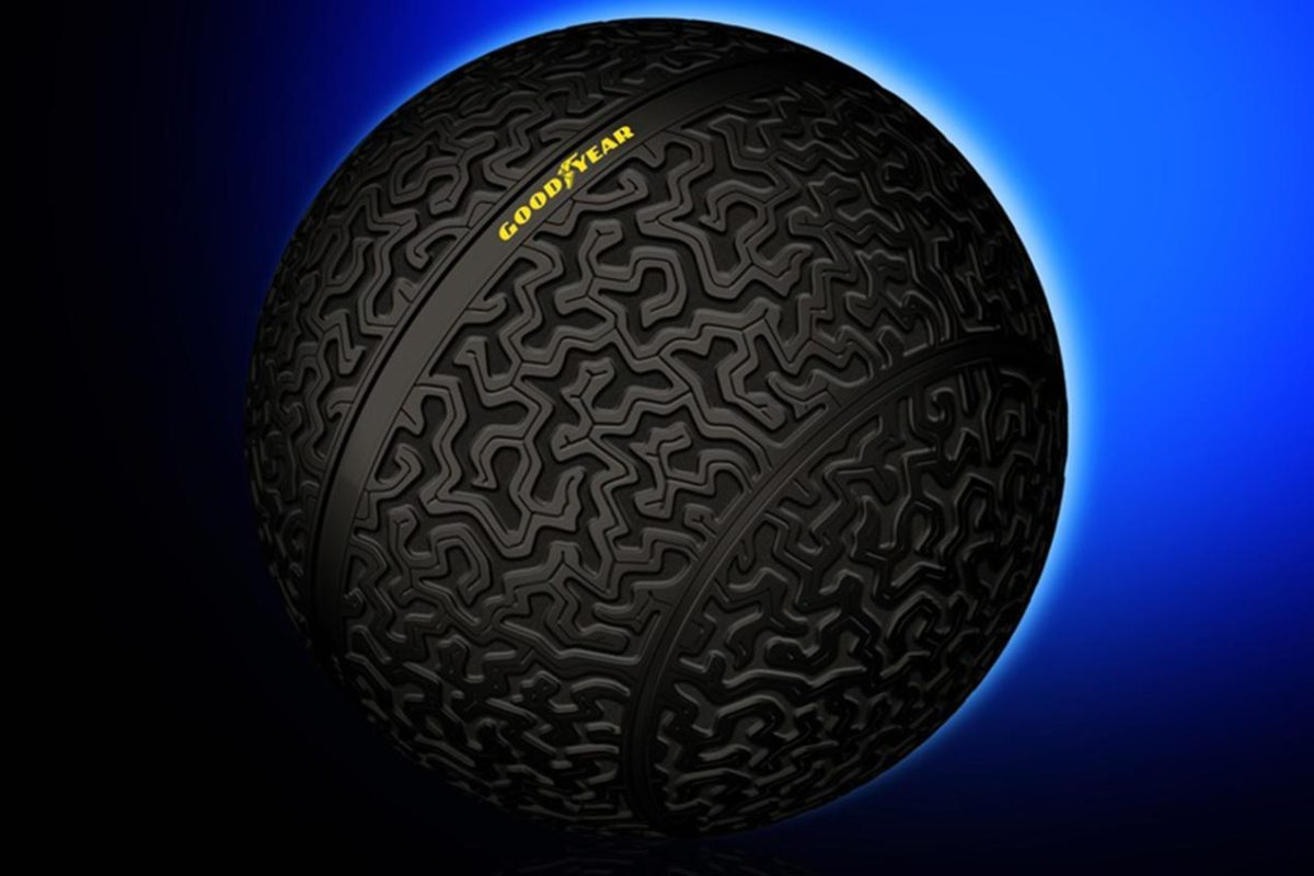 Goodyear Eagle-360 Spherical Tire Concept Debuts