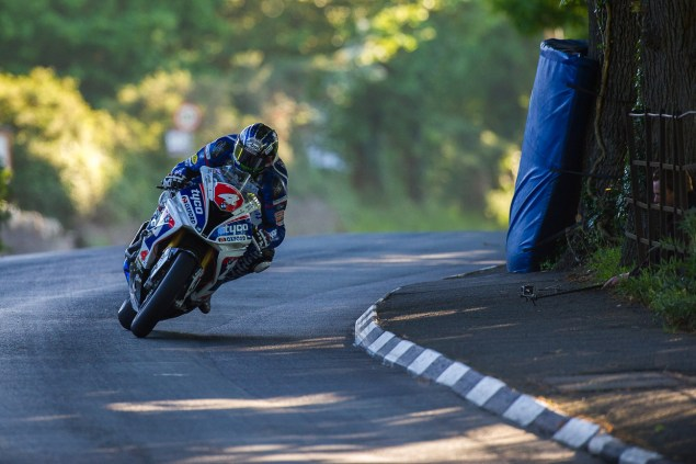 Ian Hutchinson Isle of Man TT Tyco BMW Superstock