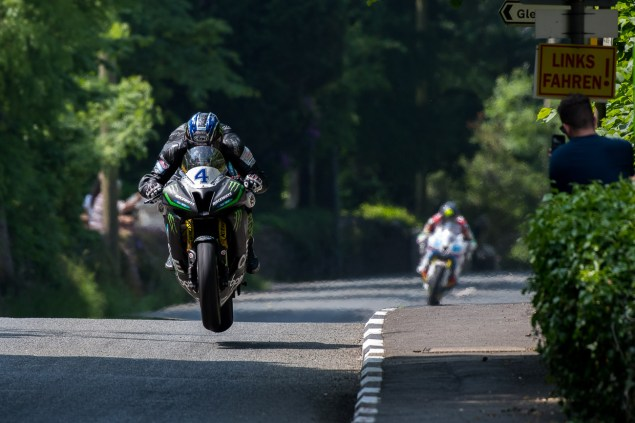 Ian Hutchinson Monster Energy Supersport TT Race 2