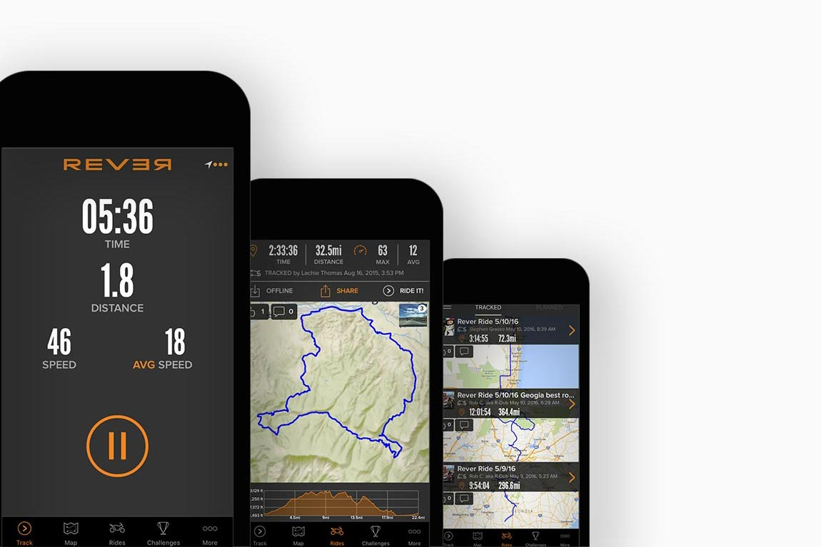 BMW Invests in Motorcycle Tracking App Rever