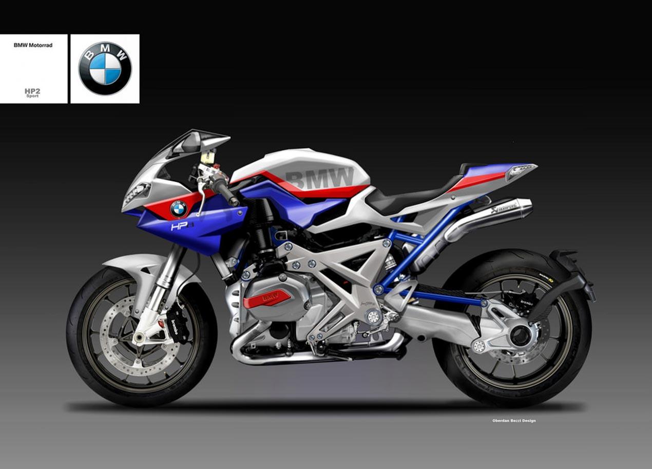 BMW HP2 Sport Concept by Oberdan Bezzi