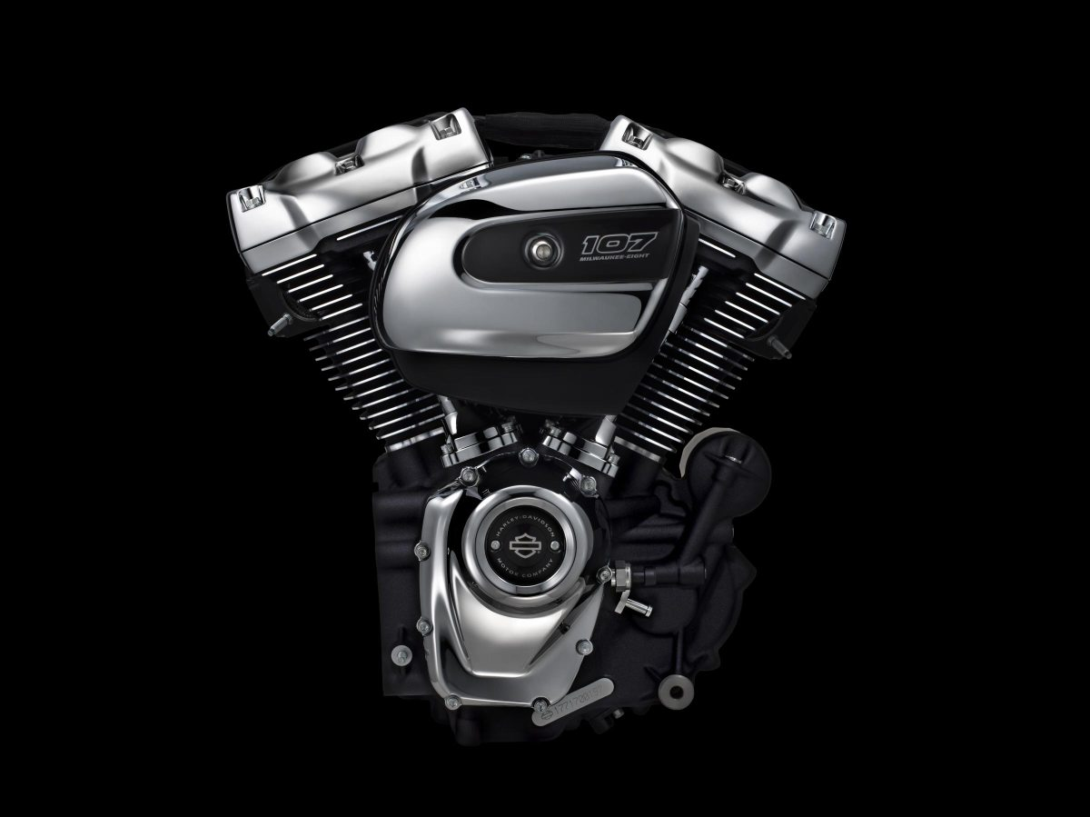 The New Harley-Davidson Milwaukee-Eight Engine Debuts