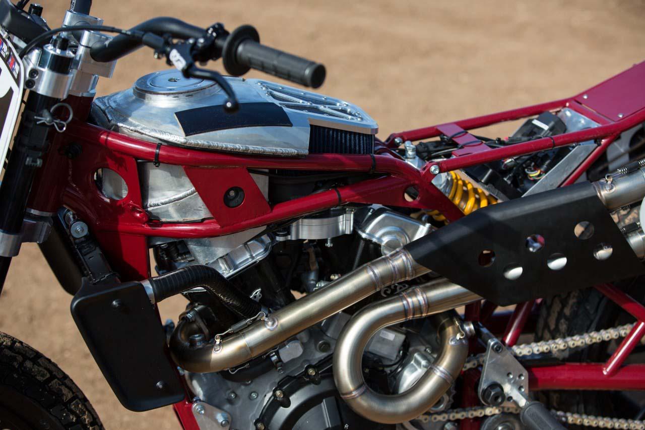 Indian Scout Ftr750 Flat Track Race Bike Debuts