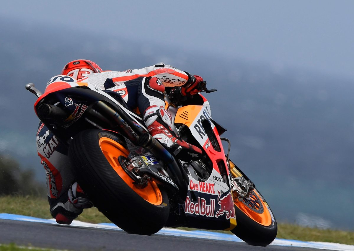 MotoGP Qualifying Results from Phillip Island