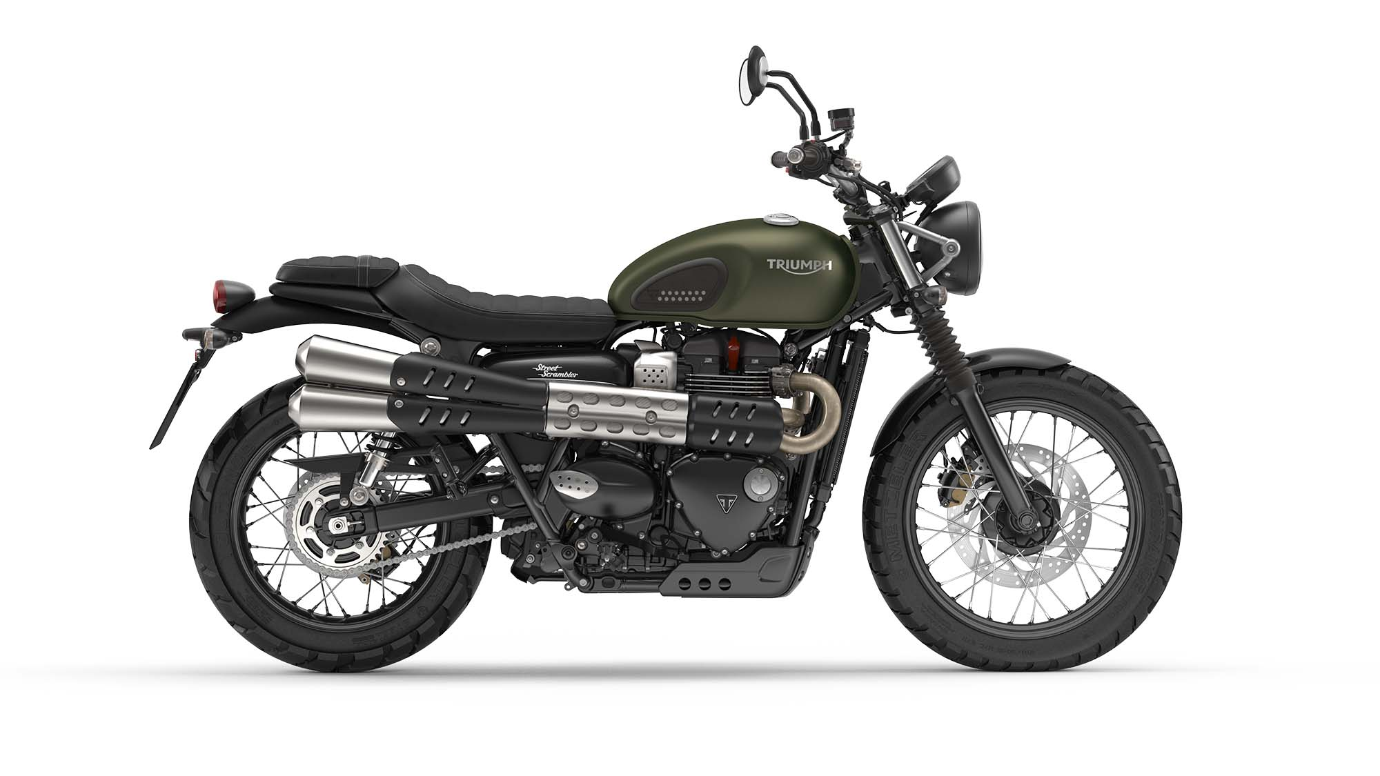 triumph street scrambler refined heritage from the uk