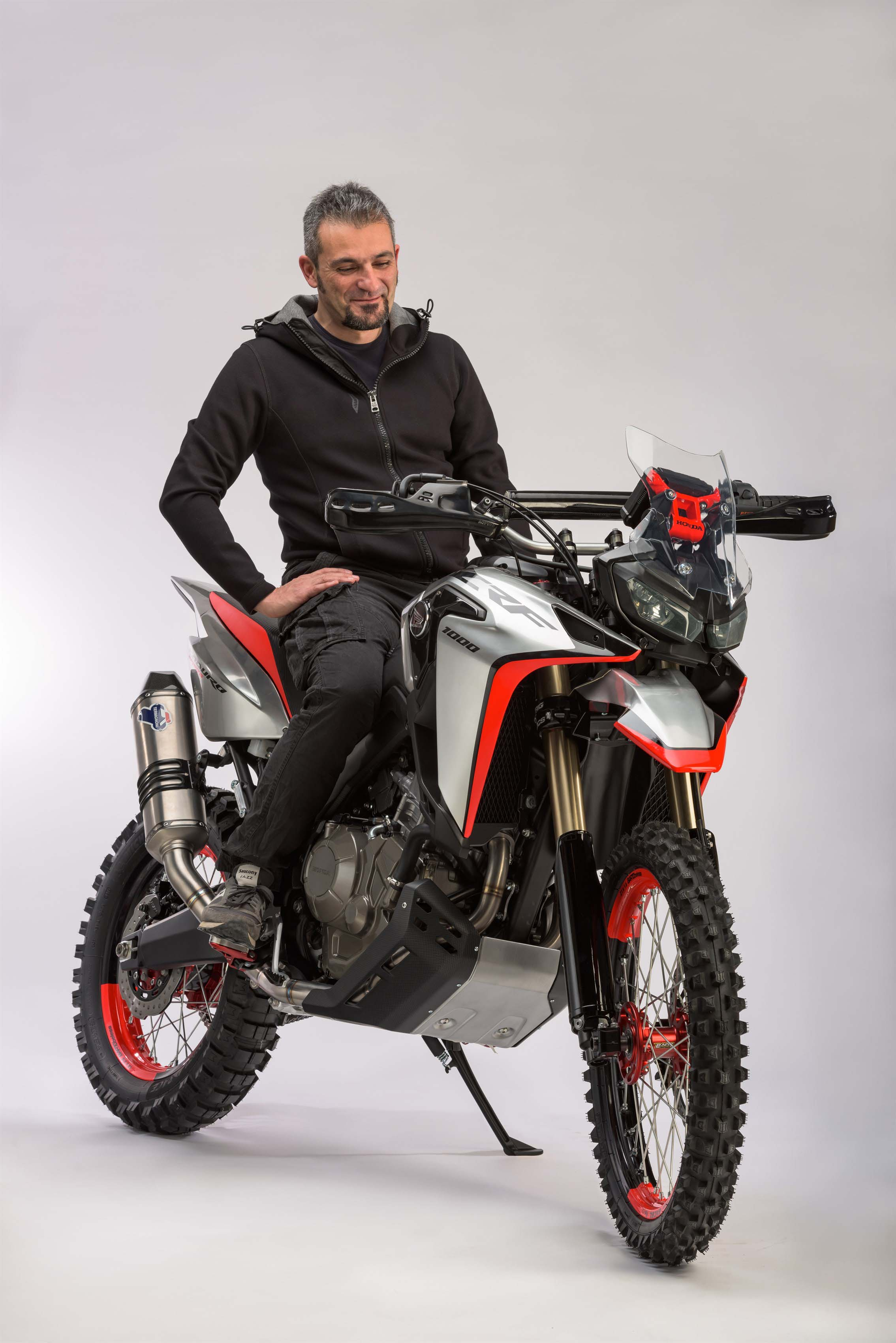 Best Enduro Motorcycle >> Oh My! The Honda Africa Twin Enduro Sports Concept