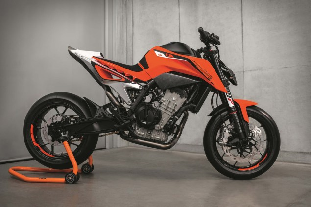 KTM 790 Duke Prototype Debuts with Parallel-Twin Engine