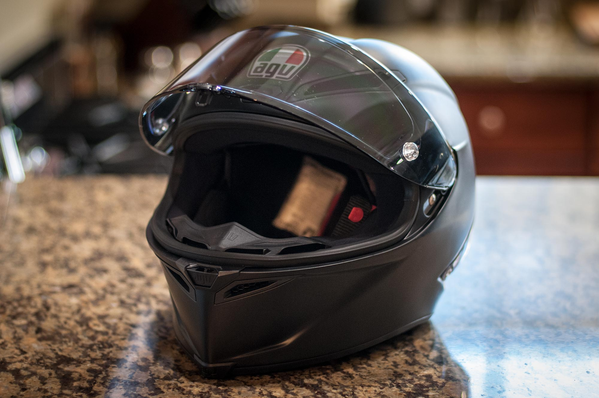 gear review agv corsa r helmet. Black Bedroom Furniture Sets. Home Design Ideas