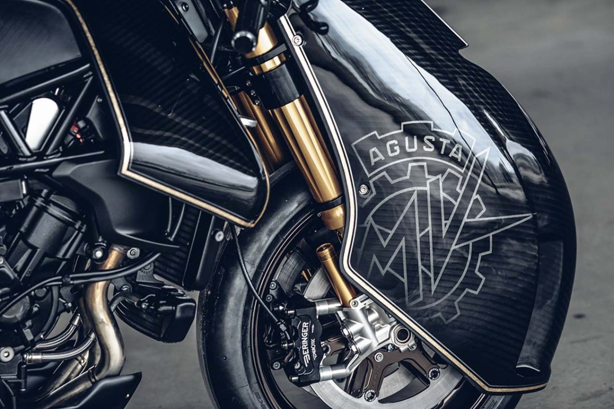 "MV Agusta ""Ballistic Trident"" by Rough Crafts"