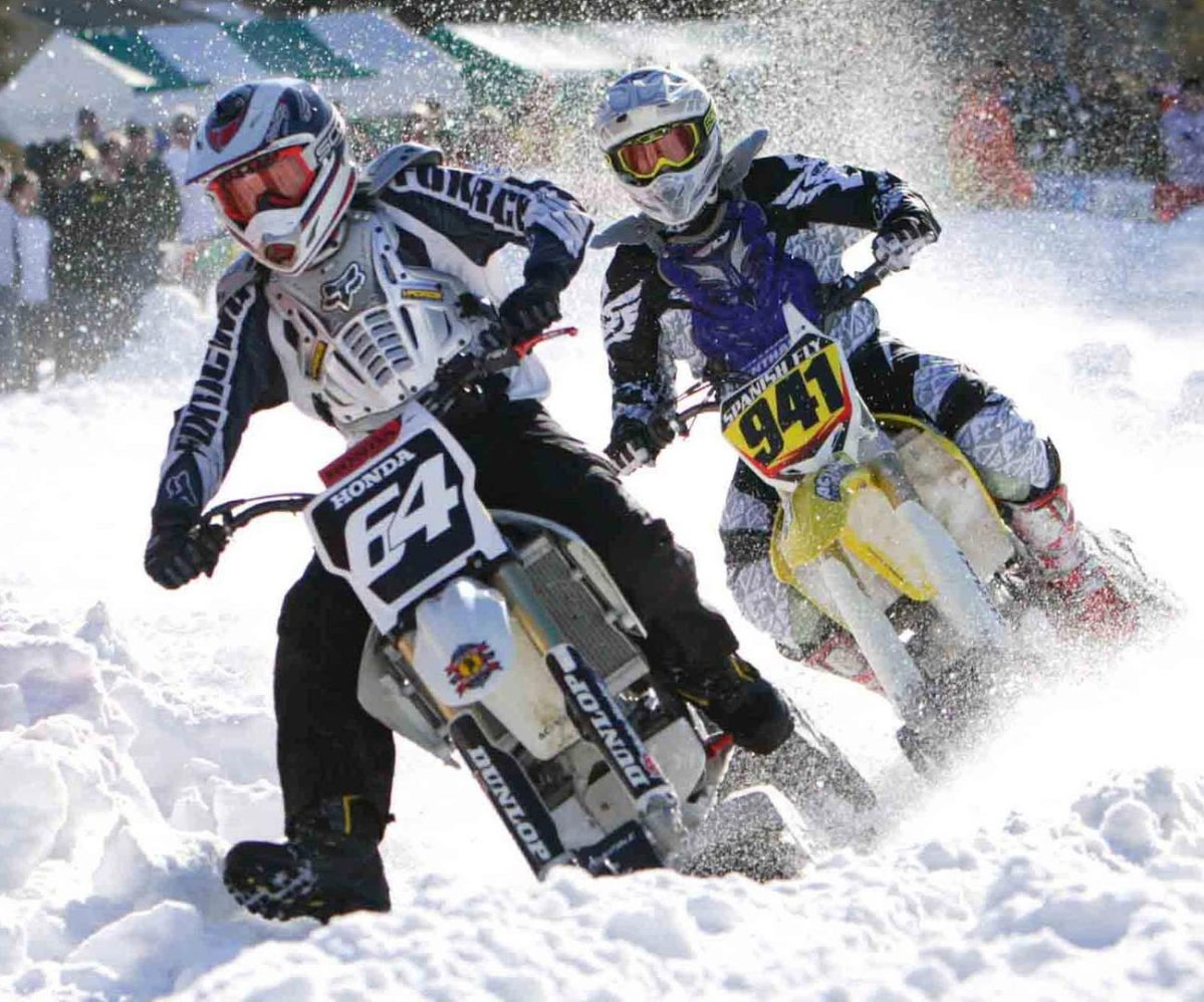 Snow Bike Racing Is Officially A Thing Now
