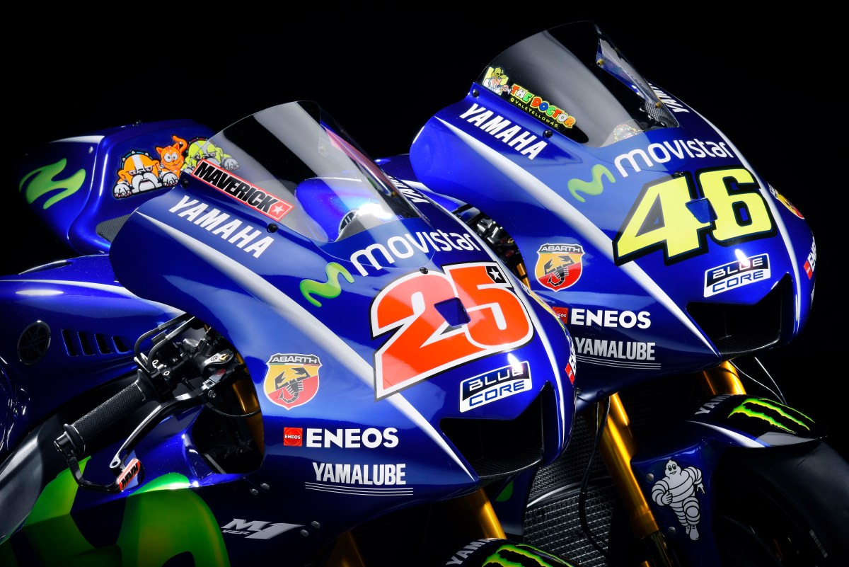 2017 Yamaha MotoGP Team Launches in Spain