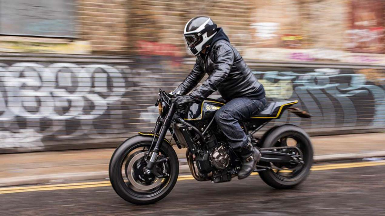 Yard Built Yamaha XSR700 Double Style By Rough Crafts