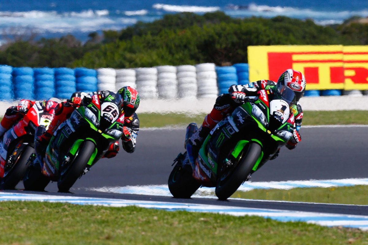 WSBK: Jonathan Rea Wins Race 1 at Phillip Island