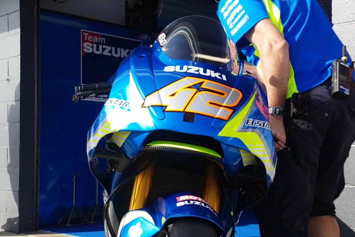 More Photos of Suzuki's MotoGP Aerodynamics