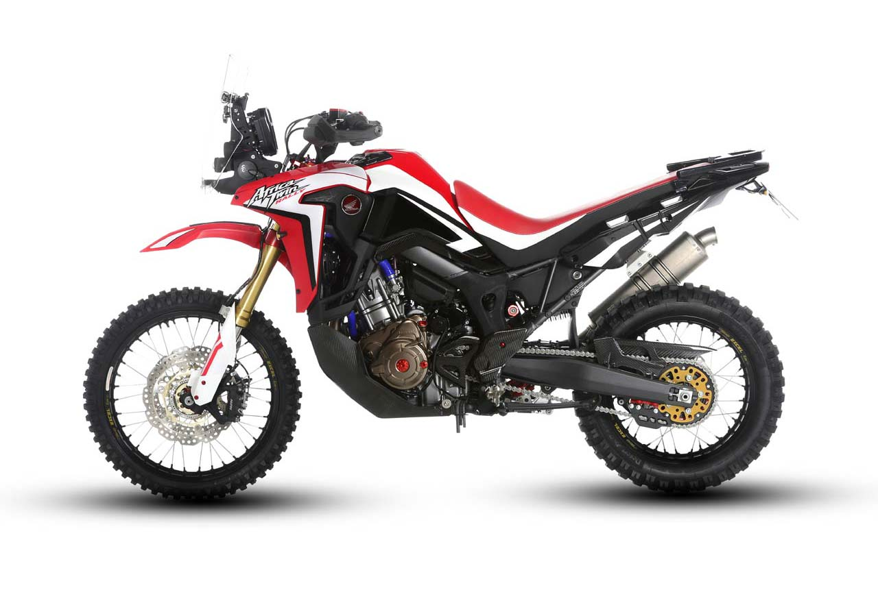 The Honda Africa Twin Gets Rally Raid Ready - Asphalt & Rubber