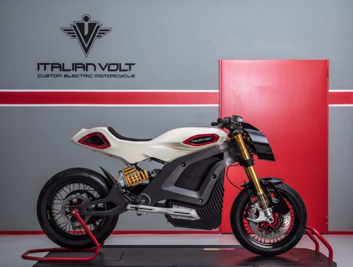 Italian Volt Lacama Electric Motorcycle Brings Some Style