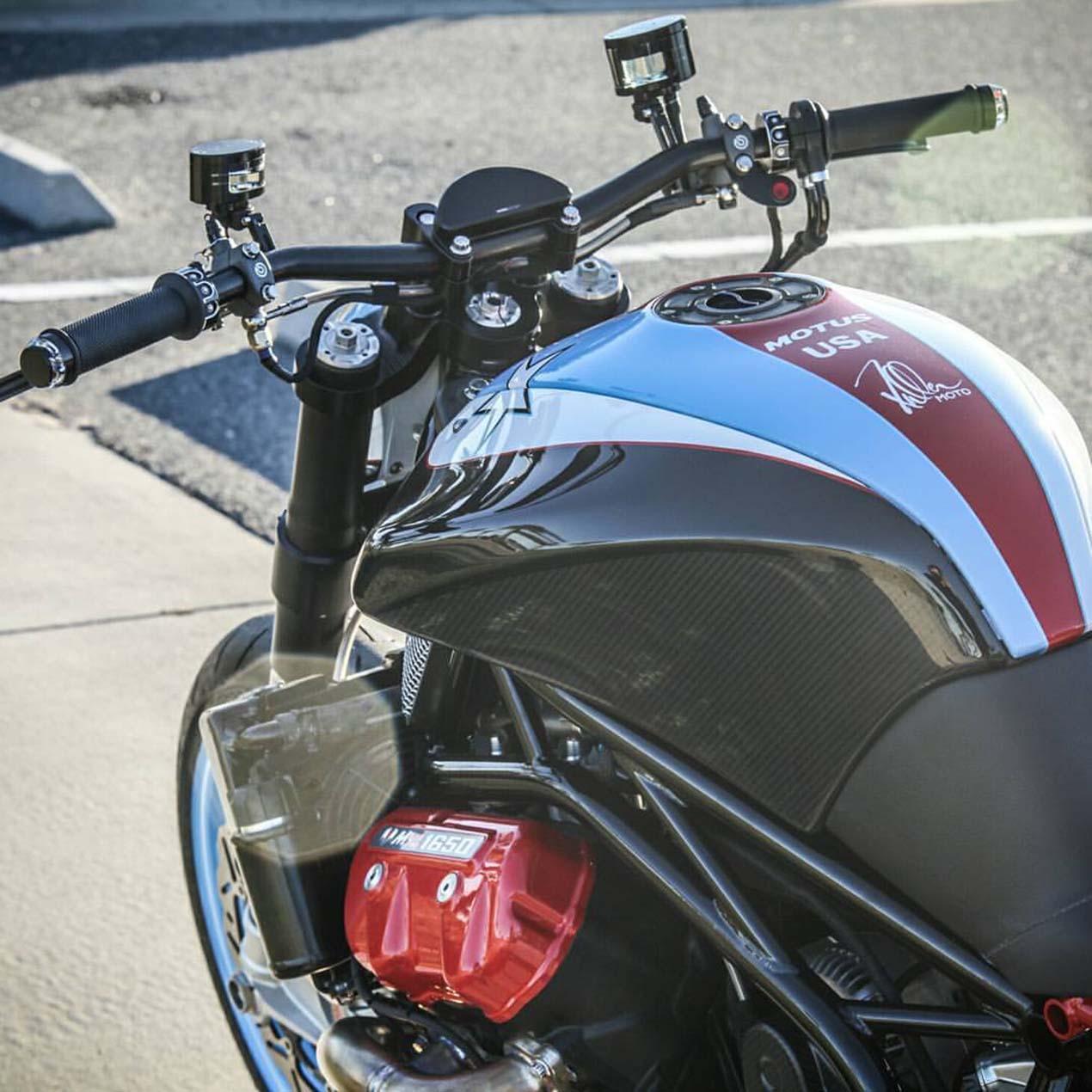 Fuller Moto's Custom Motus MSTR Streetfighter - Asphalt & Rubber