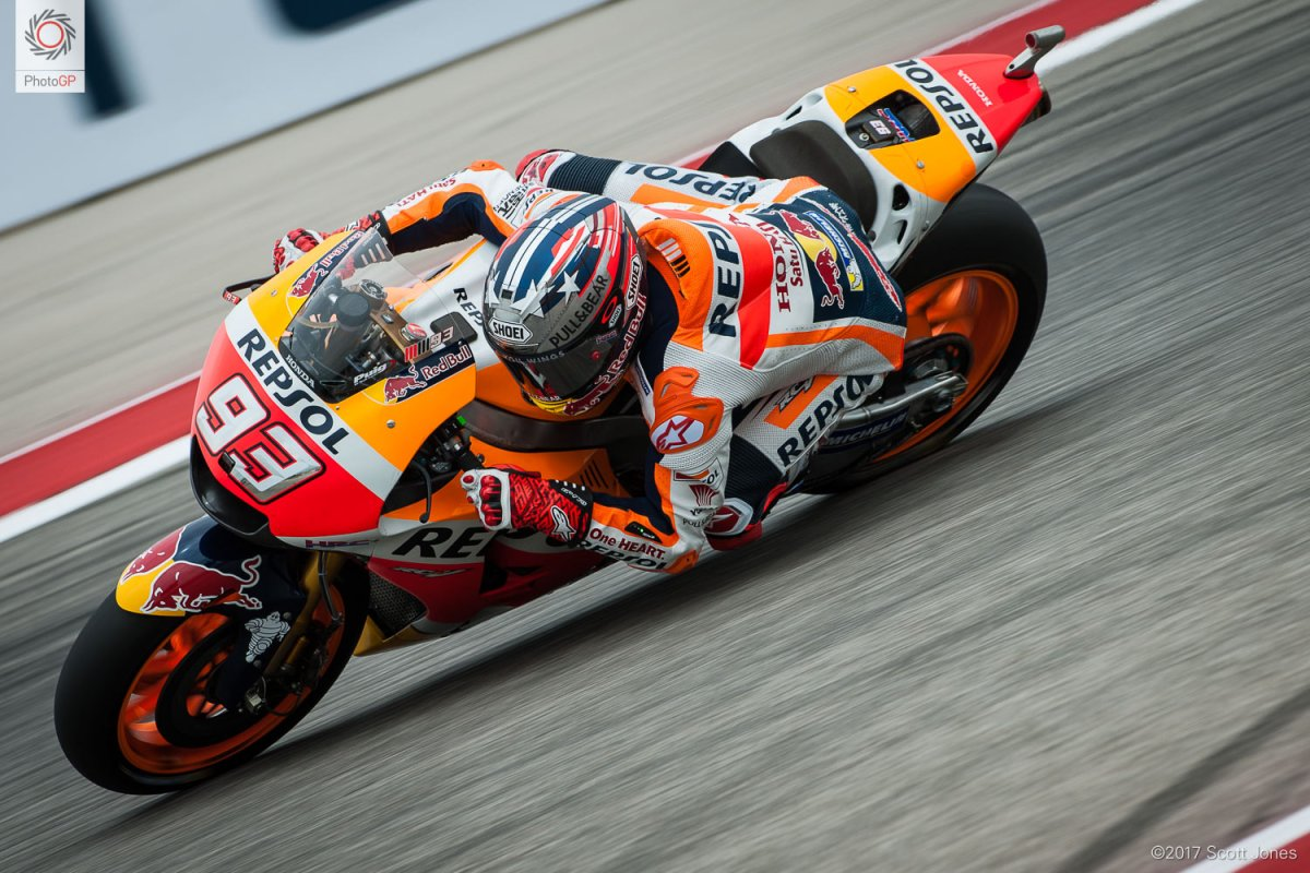 MotoGP Qualifying Results from Austin