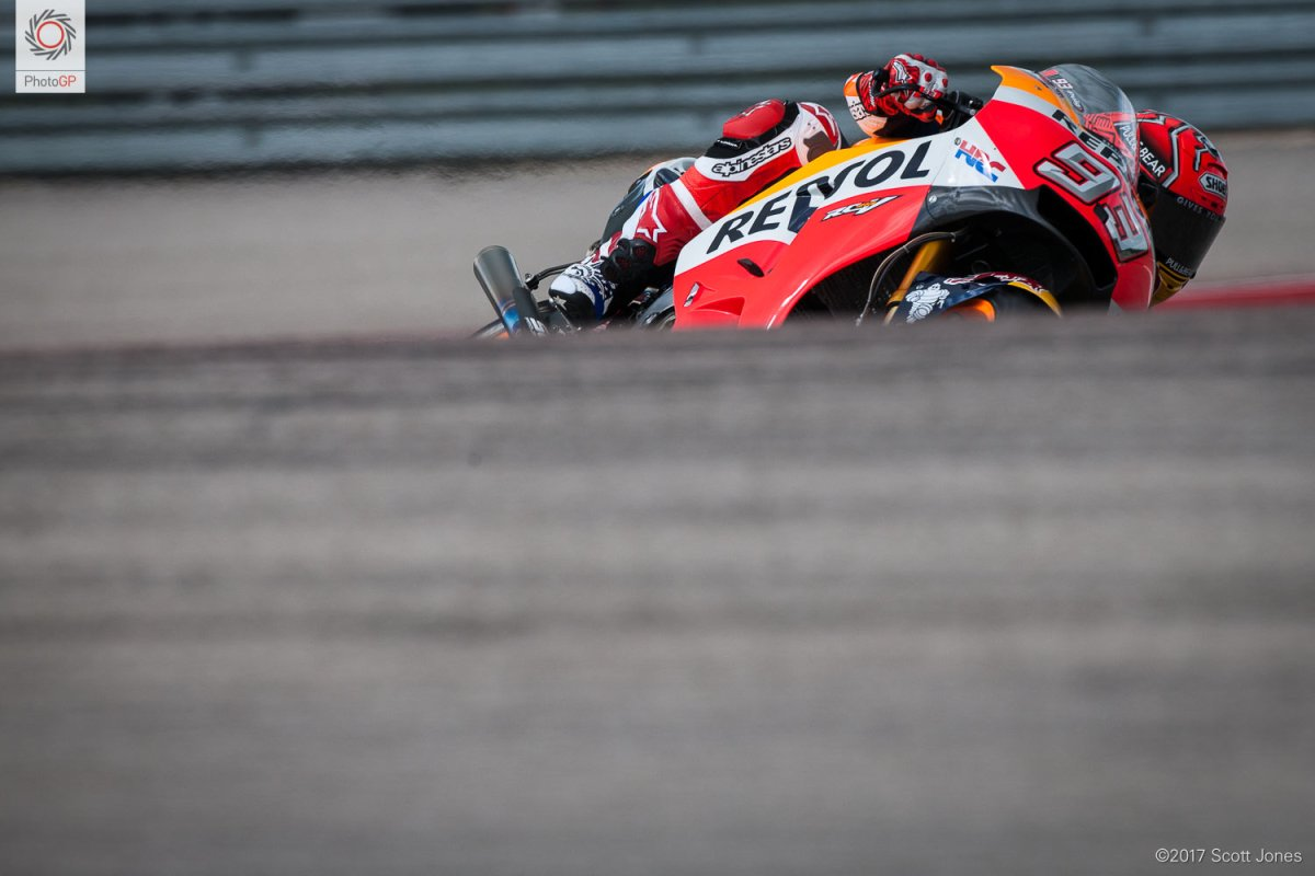 Friday MotoGP Summary at Austin: Honda's Real Weakness