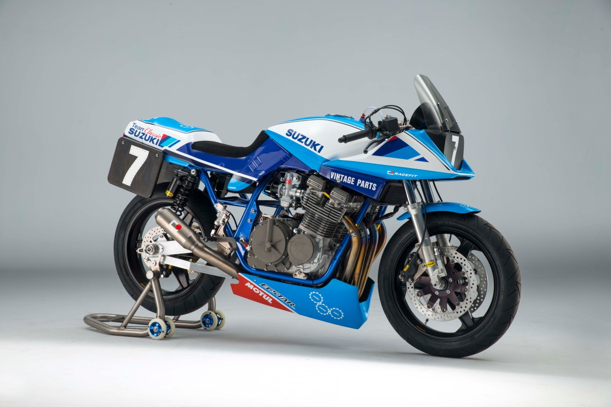 Mmm...Check This Suzuki GSX1100SD Katana Race Bike