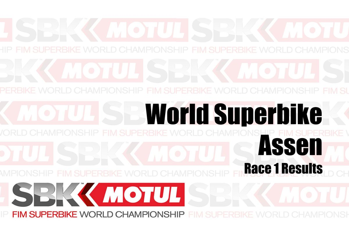 WorldSBK Race Results from Assen – Race 1